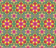 Hintergrund mit nahtlosem Muster in der islamischen oder indischen Art stock abbildung