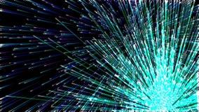 Hintergrund mit netten Feuerwerken stock abbildung