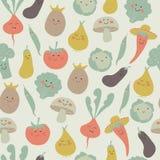 Hintergrund mit Obst und Gemüse stock abbildung