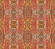 Hintergrund mit orientalischem Muster Stockfoto