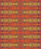 Hintergrund mit orientalischem Muster Lizenzfreie Stockfotografie