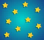 Tapezieren Sie Sterne auf dem Himmel vektor abbildung