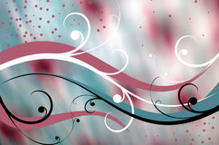 Hintergrund mit roten Flecken Lizenzfreie Stockbilder