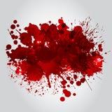 Hintergrund mit roten Flecken Lizenzfreies Stockbild