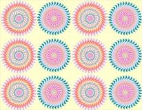 Hintergrund mit schönem Muster lizenzfreie stockbilder