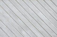 Hintergrund mit schiefen Planken Lizenzfreies Stockfoto