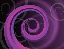 Hintergrund mit Spirale stock abbildung