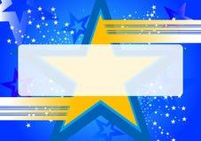 Hintergrund mit Stern Stock Abbildung