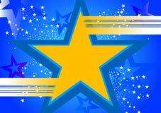 Hintergrund mit Stern Vektor Abbildung