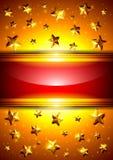 Hintergrund mit Sternen und Platz für Text Lizenzfreie Stockfotos