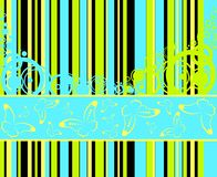 Hintergrund mit Streifen vektor abbildung