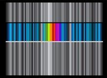Hintergrund mit Streifen lizenzfreie abbildung