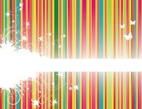 Hintergrund mit Streifen lizenzfreies stockbild