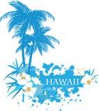 Hintergrund mit tropischen Anlagen Lizenzfreie Stockbilder