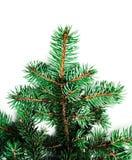 Hintergrund mit Weihnachtsbaumasten und Raum für Text für Lizenzfreie Stockfotos