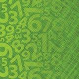 Hintergrund mit Zahlen Stockfotografie