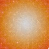 Hintergrund - orange Mosaik lizenzfreie abbildung