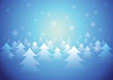 Hintergrund-Schnee Stockfoto