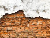 Hintergrund, sehr alte Backsteinmauerbeschaffenheit Lizenzfreie Stockfotos