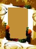 Hintergrund: Sepia-Saft Lizenzfreie Stockbilder
