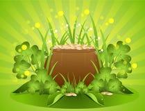 Hintergrund-St Patrick Tag Lizenzfreie Stockfotografie