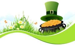 Hintergrund St. Patricks Tages Lizenzfreies Stockfoto