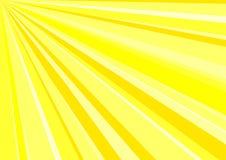 Hintergrund - startende Sunrays Stockbilder