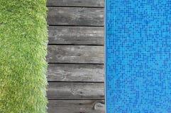Hintergrund - Swimmingpool Lizenzfreies Stockbild