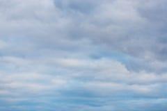 Hintergrund und Beschaffenheit Glättung von bewölkten Wolken im Überfluss Stockbilder