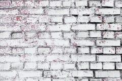 Hintergrund und Beschaffenheit Strukturierte alte Backsteinmauer Lizenzfreies Stockbild