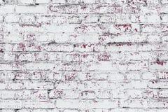 Hintergrund und Beschaffenheit Strukturierte alte Backsteinmauer Stockbild