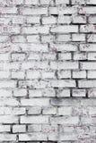 Hintergrund und Beschaffenheit Strukturierte alte Backsteinmauer Lizenzfreie Stockfotos