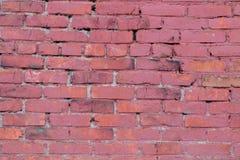 Hintergrund und Beschaffenheit Strukturierte alte Backsteinmauer Stockfotos