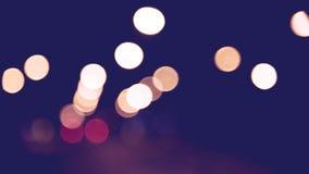 Hintergrund unscharfes bokeh Licht-Zeremonien Beleuchten Sie die Lichter nachts in den Feiern lizenzfreies stockbild
