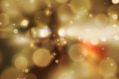 Hintergrund unscharfes bokeh Licht-Zeremonien Beleuchten Sie die Lichter nachts in den Feiern stockfoto
