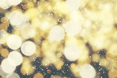 Hintergrund unscharfes bokeh Licht-Zeremonien Beleuchten Sie die Lichter nachts in den Feiern lizenzfreies stockfoto
