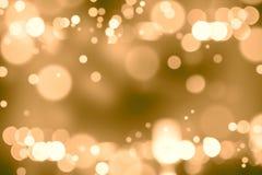Hintergrund unscharfes bokeh Licht-Zeremonien Beleuchten Sie die Lichter nachts in den Feiern stockbild
