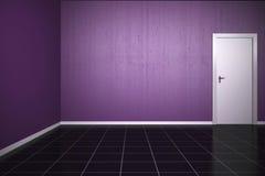 Hintergrund-Veilchen-Wand Stockfoto