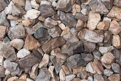 Hintergrund viele Steine Lizenzfreie Stockfotos