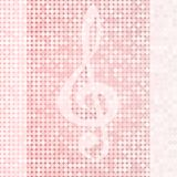 Hintergrund-Violinschlüssel Lizenzfreie Stockbilder
