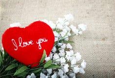 Hintergrund voll der Liebe Stockbild