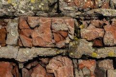 Hintergrund vom alten gebrochenen Stein stockbilder