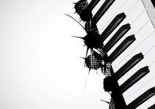 Hintergrund vom Klavier Stockbilder