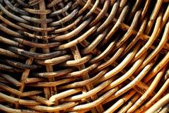 Hintergrund vom natürlichen Rattan Stockbild