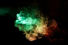 Hintergrund vom Rauche von vape Lizenzfreie Stockfotos
