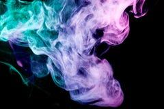 Hintergrund vom Rauche von vape Stockfotos
