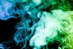 Hintergrund vom Rauche von vape Lizenzfreies Stockfoto
