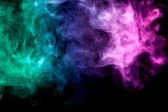 Hintergrund vom Rauche von vape Stockfotografie