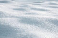 Hintergrund vom Schnee Stockfoto