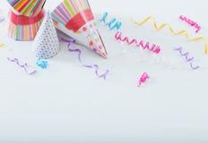 Hintergrund von Ballonen für Geburtstag Stockfotografie